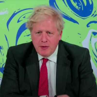 Boris Johnson Leaders Summit on Climate